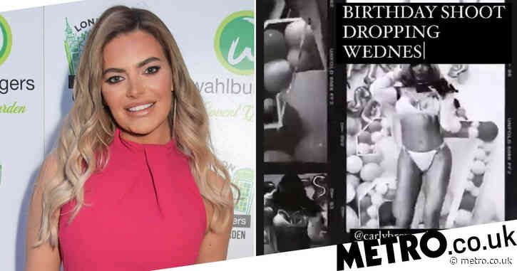 Megan Barton Hanson denies throwing party to celebrate birthday in lockdown as police spotted on her doorstep