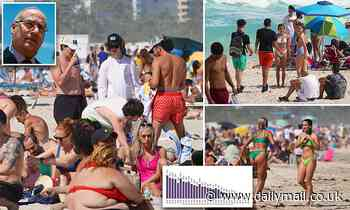 Miami Beach mayor Dan Gelber 'very concerned' about Spring Breakers who have descended on Florida