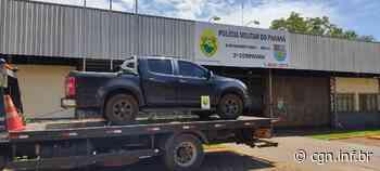 Durante Operação Hórus BPFRON recupera em Guaíra veículo roubado em Ortigueira - CGN