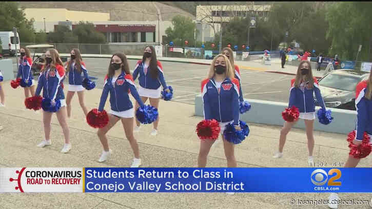 Conejo Valley Unified Students Return To High School Campuses