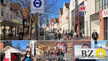Kunden kommen zurück in die Gifhorner Fußgängerzone