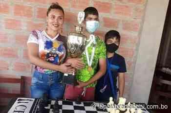 En San Borja realizan primer torneo de ajedrez - La Palabra del Beni