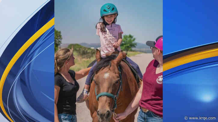 Challenge New Mexico prepares to continue work providing horseback riding to those with special needs