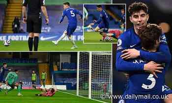 Chelsea 2-0 Everton - Blues cruise to Premier League win