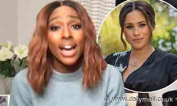 Alexandra Burke calls Meghan Markle's Royal family racism claims 'heartbreaking'