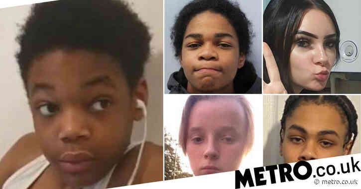 Boy, 13, among 10 children reported missing in London in the past month