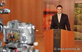 Vor der Bürgermeister-Wahl in Obersulm steht Björn Steinbach Bürgern Rede und Antwort - STIMME.de - Heilbronner Stimme