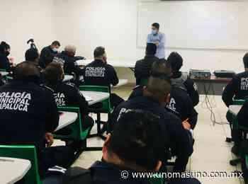 En Ixtapaluca, Edomex; Imparten capacitación en derechos humanos a policía municipal - UnomásUno