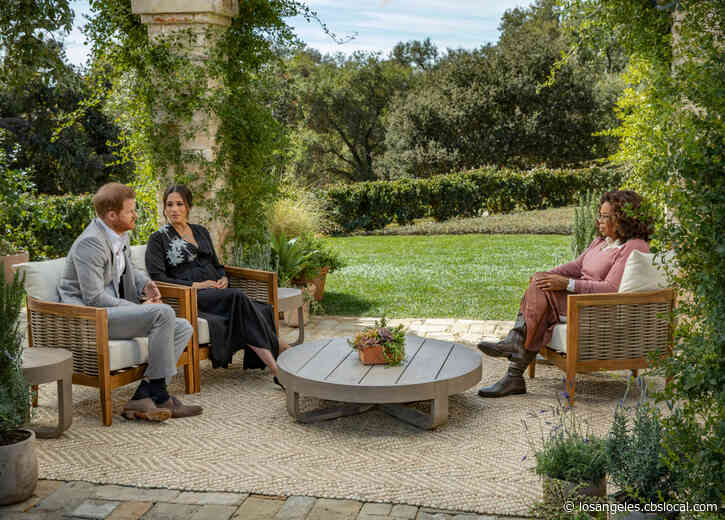 'Oprah With Meghan And Harry' Watched By Over 17 Million Viewers On CBS