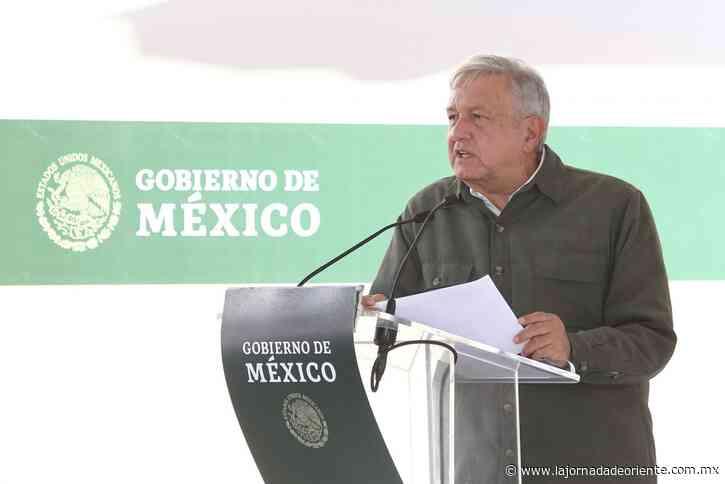 Anuncia AMLO en Zinacatepec que la semana entrante inicia vacunación a poblanos vs Covid - Puebla - Estado - La Jornada de Oriente