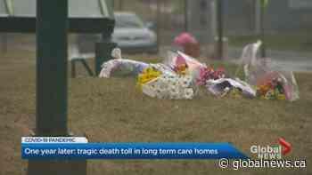Coronavirus: Canada marks 1 year since 1st long-term care deathitled