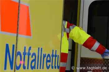 Frontalcrash in Ingelfingen: Zwei Menschen in Lebensgefahr - Schwäbisches Tagblatt