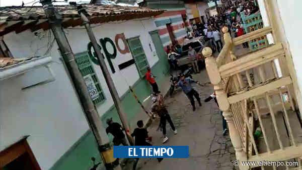 A machete se enfrentaron varios hombres en Abejorral, Antioquia - El Tiempo
