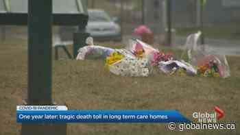 Coronavirus: Canada marks 1 year since 1st long-term care death