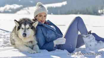 FOTOS: Marisela de Montecristo, ex Miss El Salvador, disfruta los últimos días de invierno posando en la nieve - elsalvador.com