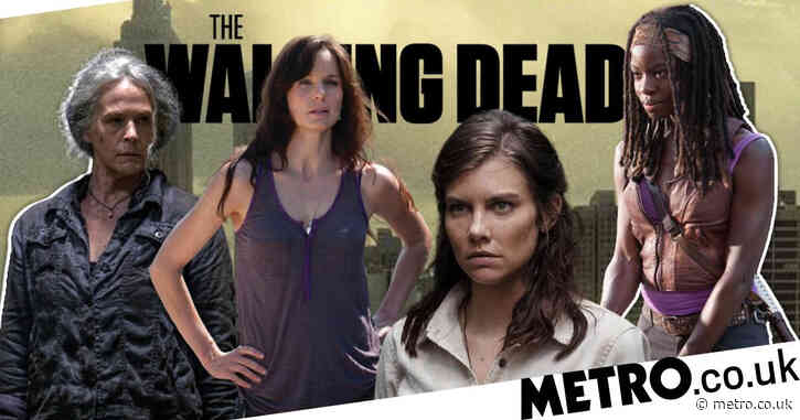 The Walking Dead marks International Women's Day as it pays tribute to 'the women in front of and behind the camera'