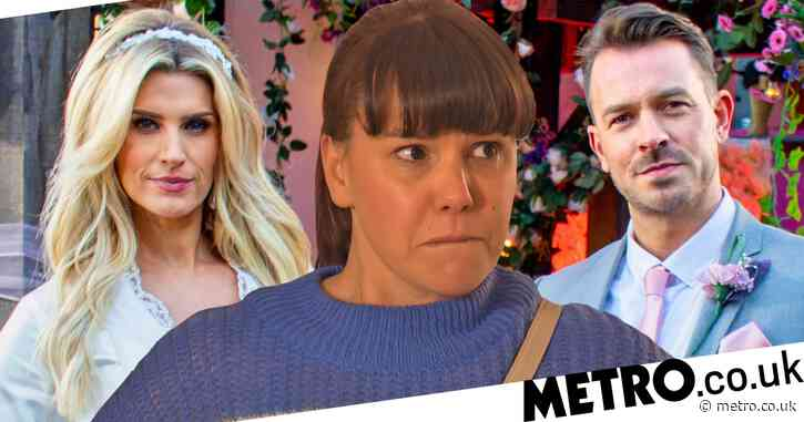 Hollyoaks spoilers: Wedding showdown for Mandy Richardson and Nancy Osborne as Ella's secret is exposed?
