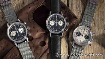 Hamilton Debuts Intra-Matic Chronograph H Watch Series - aBlogtoWatch