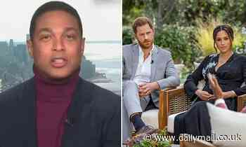 Don Lemon says he wasn't surprised by Harry and Meghan's claims of racism in Royal family