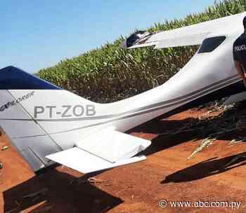 Reportan aterrizaje forzoso de avioneta en Los Cedrales - ABC en el Este - ABC Color