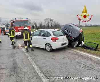 Due le auto coinvolte nell'incidente a Bene Vagienna - Unione Monregalese