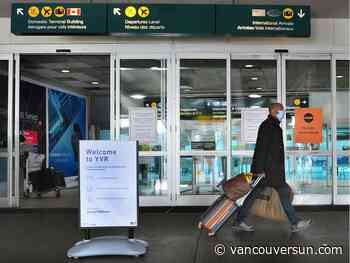 COVID-19: Drop in number of travellers to B.C. described as 'precipitous'