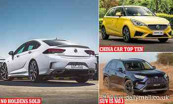 The five Australian car sales milestones of 2020 and 2021 from SUVs to Chinese cars and Holden death