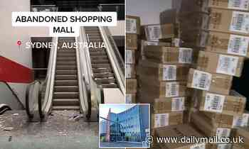 Inside abandoned shopping centre: Urban explorer shows off perfectly preserved 'secret' Sydney mall