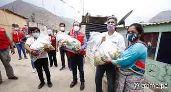 Población Shipibo-Konibo en Santa Eulalia recibe 8 toneladas de alimentos - Diario Trome