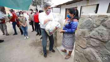 Ministerio de Cultura supervisó entrega de 8 toneladas de alimentos a población Shipibo-Konibo de Santa Eulalia - RPP Noticias
