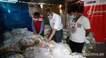 Santa Eulalia: entregan 8 toneladas de alimentos a población Shipibo-Konibo - LaRepública.pe