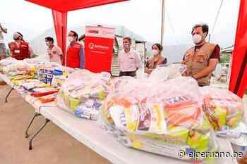Santa Eulalia: ministro Neyra supervisó la entrega de alimentos a la población Shipibo-Konibo - El Peruano