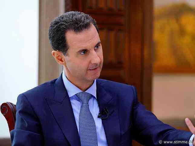 Syriens Präsident Baschar al-Assad hat Corona - Heilbronner Stimme
