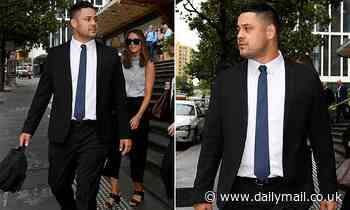 Jarryd Hayne was covered with blood after alleged sexual assault rape retrial jury hears