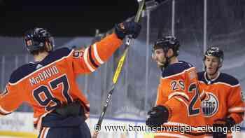 Eishockey: NHL: Stützle trifft, aber Oilers jubeln dank Draisaitl