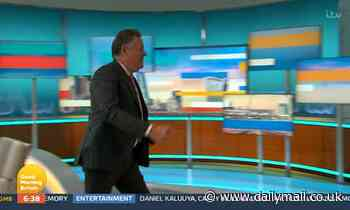 Piers Morgan storms off GMB during furious row with weatherman Alex Beresford over Meghan Markle