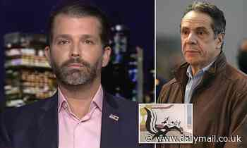 Trump Jr attacks 'groper-in-chief' Cuomo and criticizes canceling of Pepe Le Pew instead of him