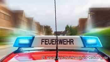 Brennendes Auto auf Seitenstreifen in Bad Eilsen - Insasse tot
