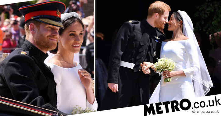 Meghan and Harry 'didn't marry in secret but had private exchange of vows'