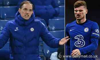 Chelsea boss Tomas Tuchel berates compatriot Timo Werner in German during win over Everton