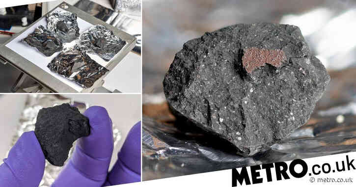 UK scientists recover meteorite that fell from the fireball that streaked across the sky