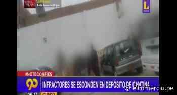 Huacho: intervienen fiesta covid donde participaban 50 menores de edad - El Comercio Perú