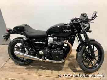 Triumph STREET TWIN 900 2019 à 8690€ sur MONTLHERY - Occasion - Motoplanete