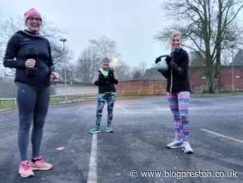 With their gym shut these Fulwood friends exercise for Rosemere - Blog Preston