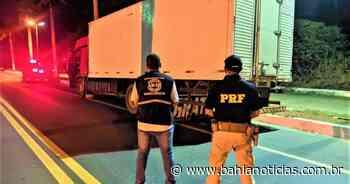 Teixeira de Freitas: Ação da PRF com Adab apreende 8,5 mil kg de carne de aves na BR-101 - Bahia Notícias