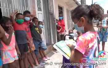 La Maleta Viajera fomenta la lectura en los niños de Puerto Tejada – - Proclama del Cauca