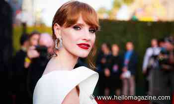 Jessica Chastain's heart-topped sweater has everyone falling in love - and we found out where to shop it - HELLO!