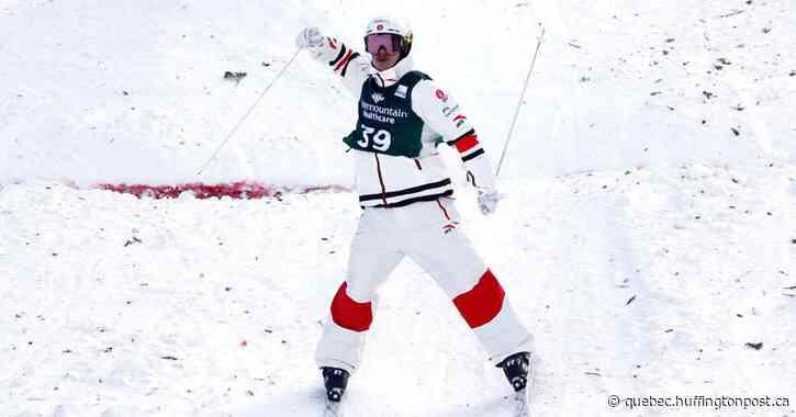 Mikaël Kingsbury champion du monde des bosses en parallèle