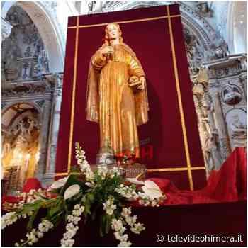 TeleVideo Himera Ciminna: Inaugurata la scultura lignea di Santa Rosalia recentemente restaurata. - Televideo Himera