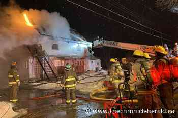 Multiple Kentville tenants displaced by early morning apartment fire - TheChronicleHerald.ca
